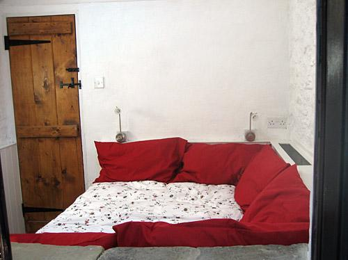 Bedroom at The Old Stables in Cowbridge, South Wal