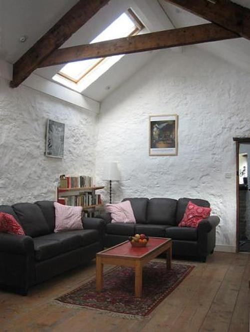 Living room at 4 star cottage in South Wales