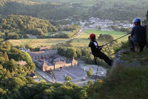 Llanberis rock climbing