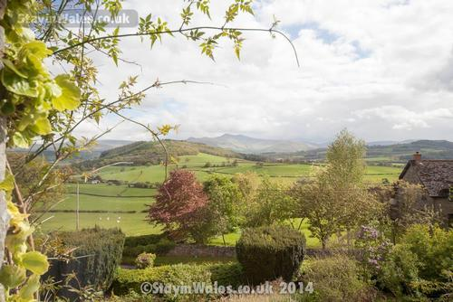 Brecon Beacons view from Battle