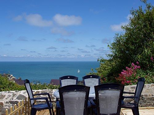 Sea view patio