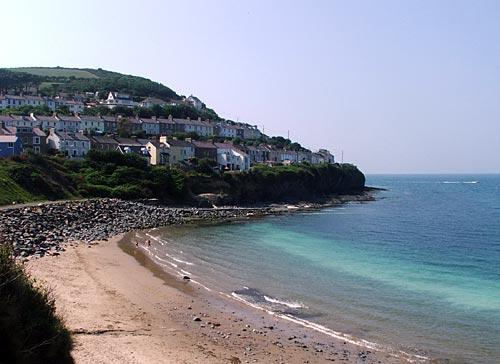 New Quay beach