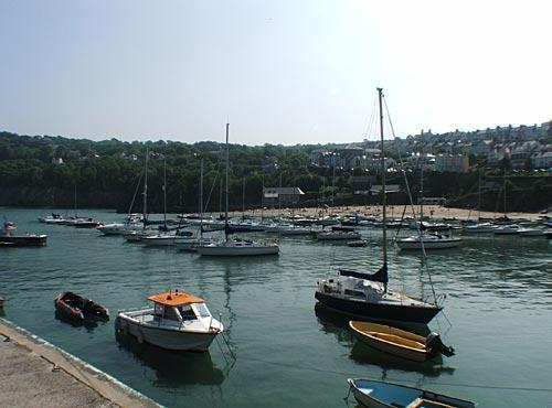 Boats at New Quay