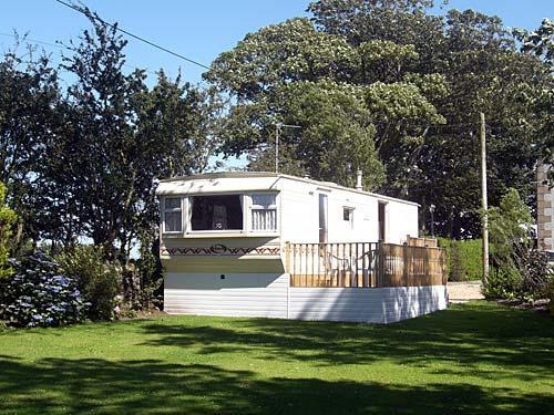 Anglesey caravan