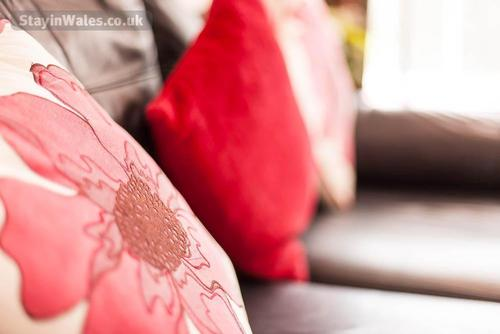 decorated cushions