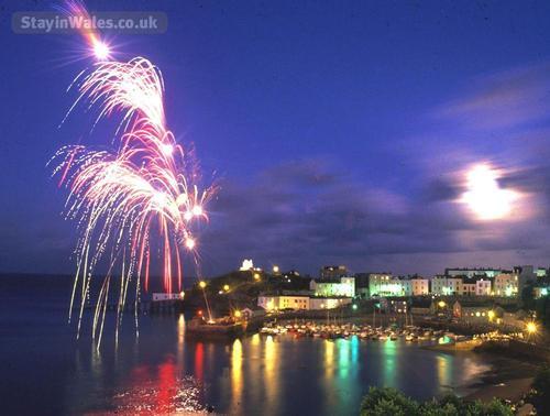 tenby fireworks display