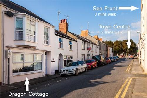 dragon cottage ideally located