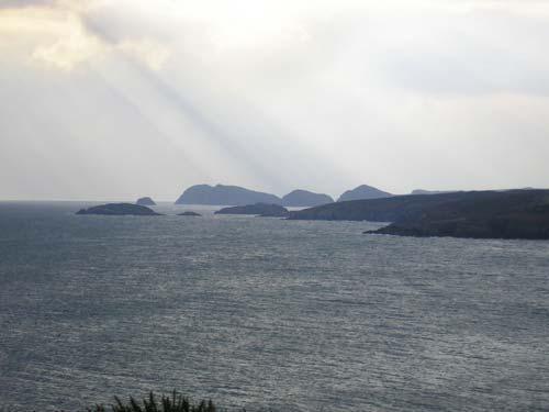 sea off the coast of pembrokeshire
