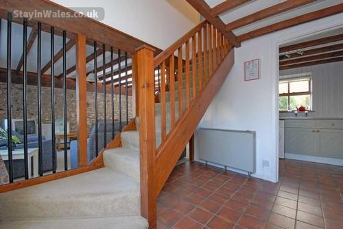 cottage stairway