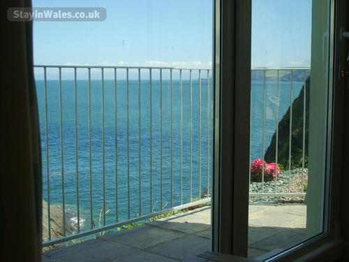 sea view from lounge/conservatory