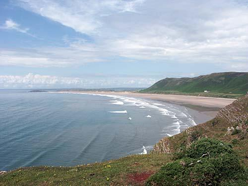 Rhosilli Bay Gower