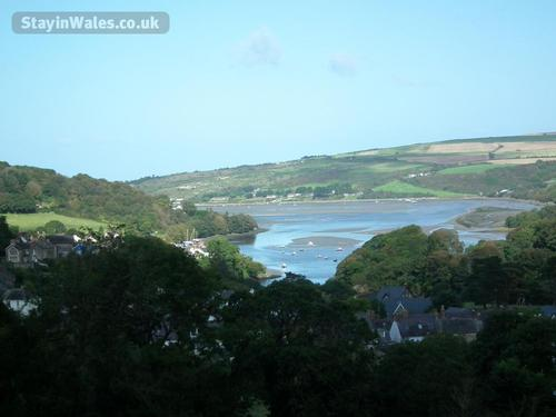 looking down the teifi towards the sea