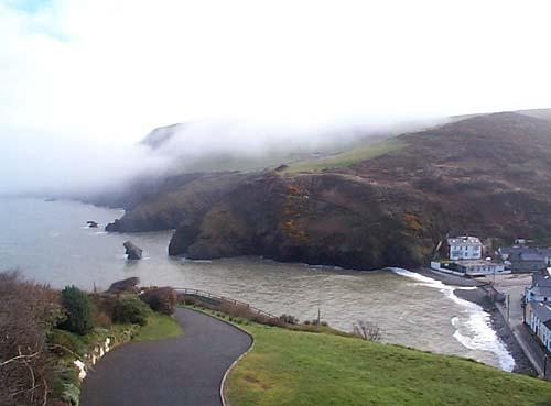 View over Llangrannog