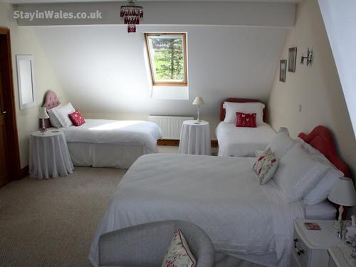maesglas uchaf red room