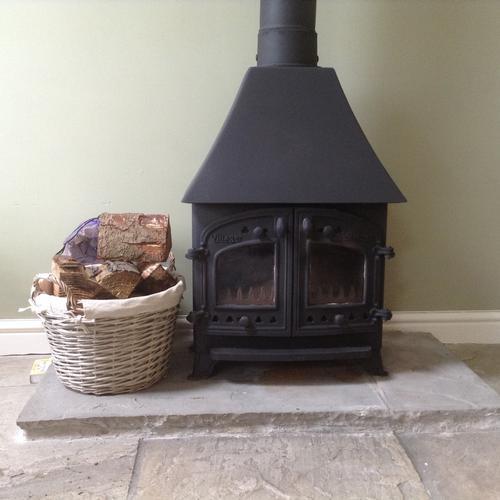 woodburner cottage 2