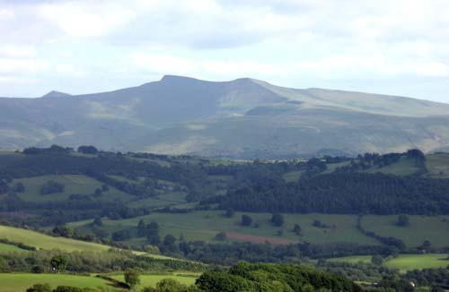 brecon beacons view