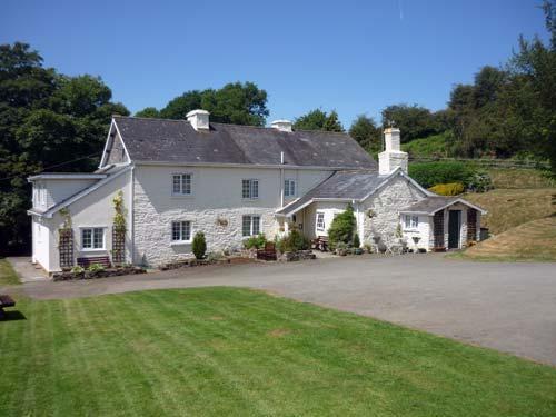 Mid Wales farmhouse B&B