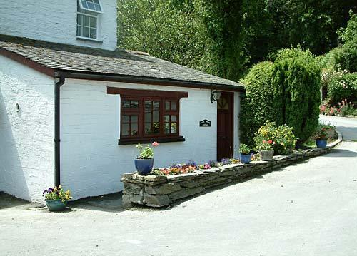 self catering kitchen enterance