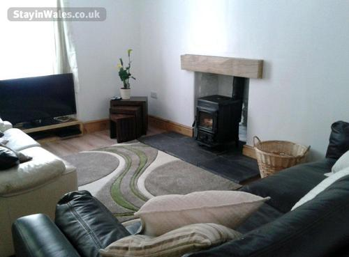living room woodburner