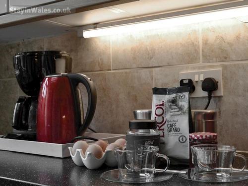 with tea, coffee, homemade jam