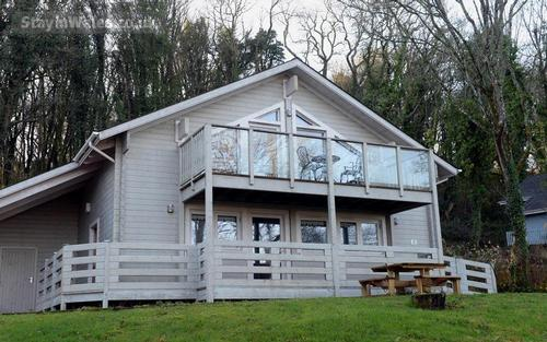 Pembrokeshire timber lodge