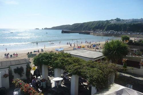 view of saundersfoot beach