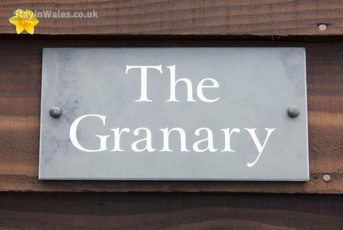 the granary nameplate