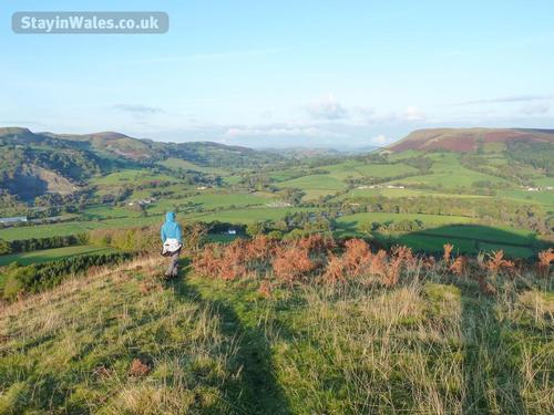 garth hill view, builth wells