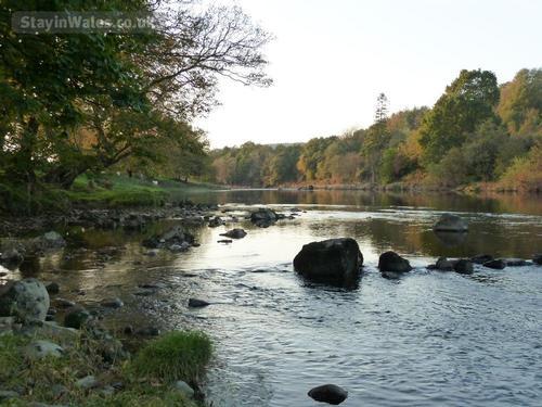 river wye near builth wells