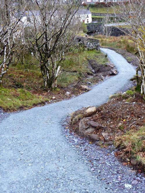 snowdon footpath
