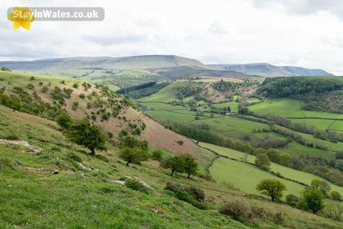 hay bluff and black mountains