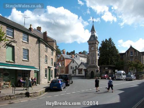 hay-on-wye clocktower
