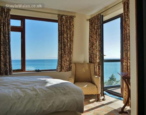 sea views from bedroom