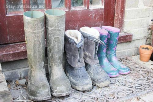 don''t forget your boots.
