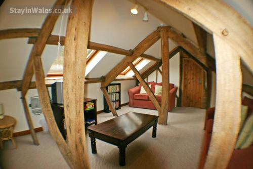 lovely exposed beams