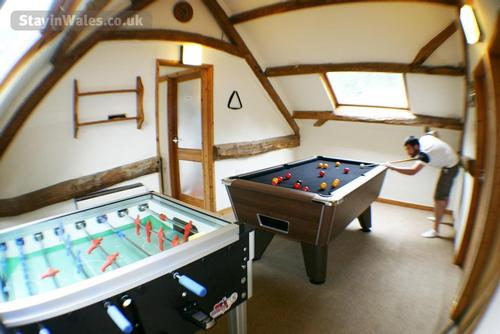 our onsite games room