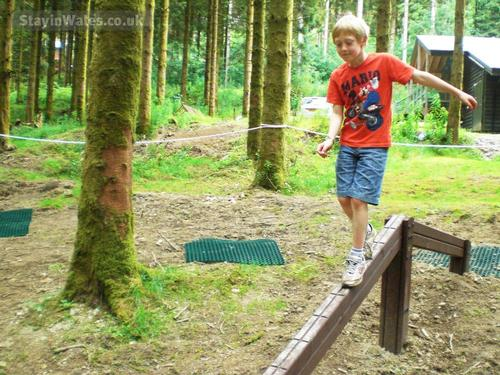 our onsite play trail