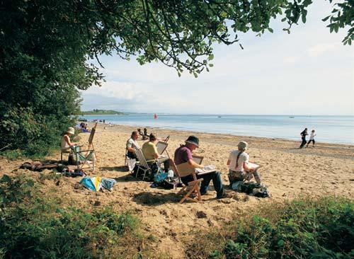 Llanbedrog beach North Wales