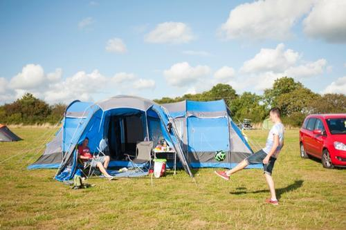 tent pitches at narberth, pembrokeshire
