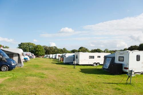 camping and caravan pitches at narberth