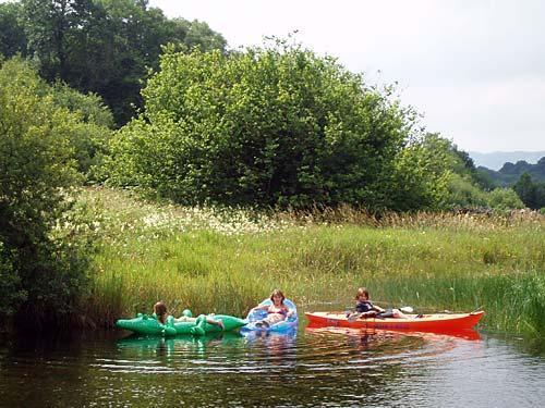 River Lledr boating