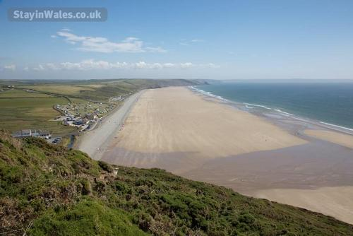 Sandy beach at Newgale