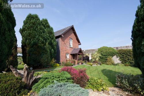 farmhouse and garden