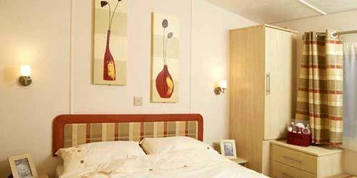 caravan luxury bedroom