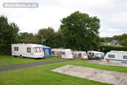 new quay touring caravan site