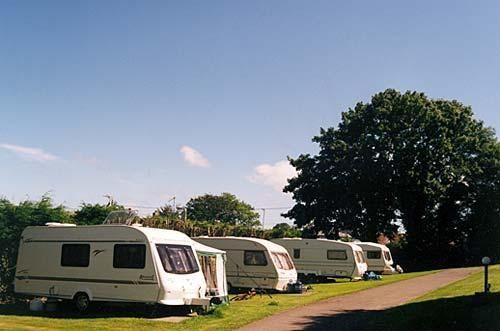 touring caravan pitches