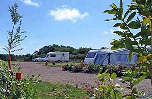 Pembrokeshire caravan site