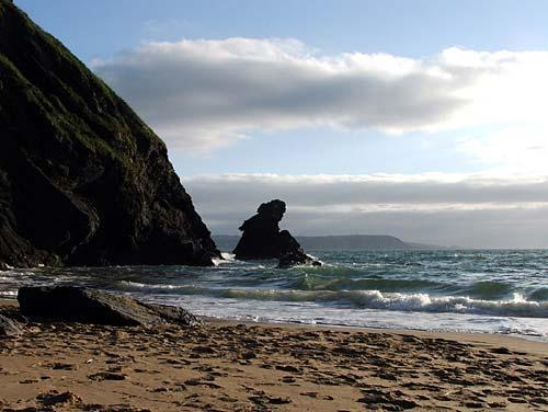 carreg bica beach