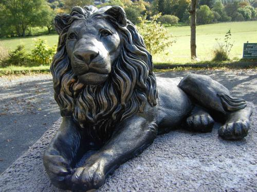 lion scuplture