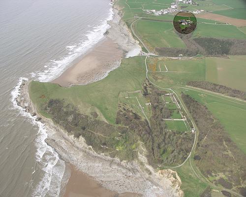 Glamorgan Coast aerial view